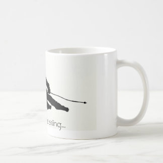 I'd rather be skiing...mug coffee mug