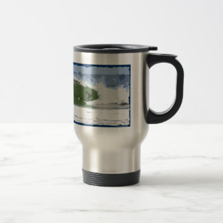 I'D RATHER BE SURFING! STAINLESS STEEL TRAVEL MUG