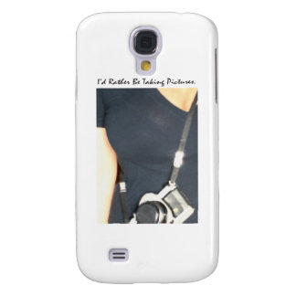 I'd Rather Be Taking Pictures Samsung Galaxy S4 Case