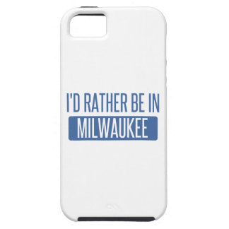 I'd rather be tough iPhone 5 case