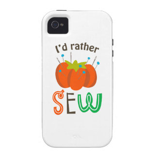 ID RATHER SEW VIBE iPhone 4 CASES