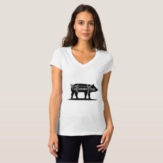 I'd Smoke That Pig Pork Bbq Barbecue Funny T-Shirt