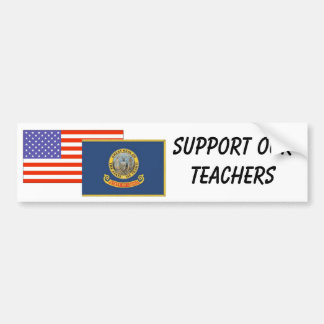 ID--Support Our Teachers Bumper Sticker