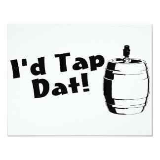 Id Tap Dat Beer Keg Card