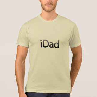 iDad gray design T-shirt