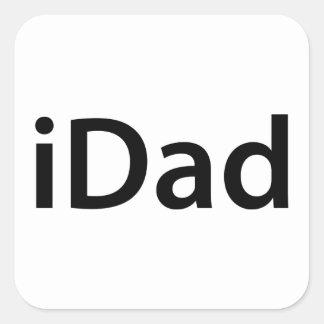 iDad Square Sticker