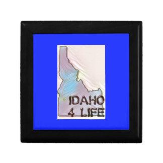 """Idaho 4 Life"" State Map Pride Design Gift Box"