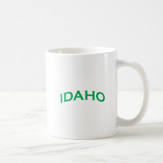 Idaho Arch Text Coffee Mug
