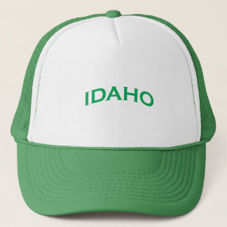 Idaho Arch Text Trucker Hat