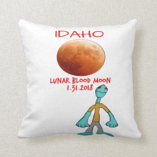 Idaho Blood Moon Lunar Eclipse 1.31.2018 Pillow