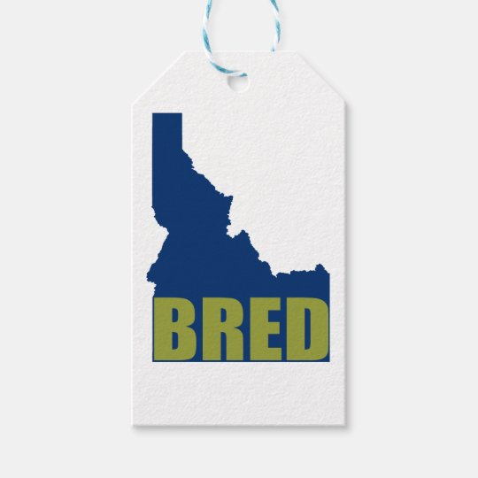 Idaho Bred Gift Tags