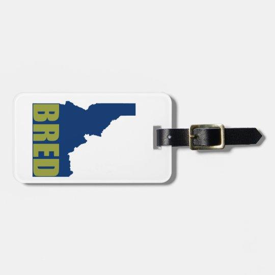 Idaho Bred Luggage Tag
