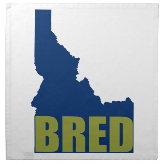 Idaho Bred Napkin