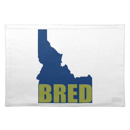 Idaho Bred Placemat