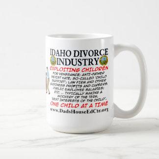 Idaho Divorce Industry. Basic White Mug