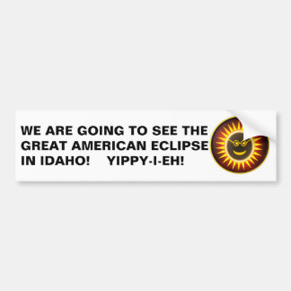 Idaho Eclipse Bumper Sticker