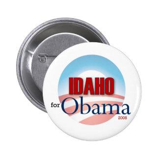 Idaho for Obama 6 Cm Round Badge