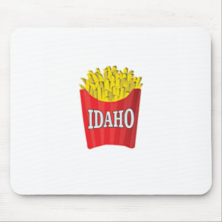 idaho french fries mouse pad