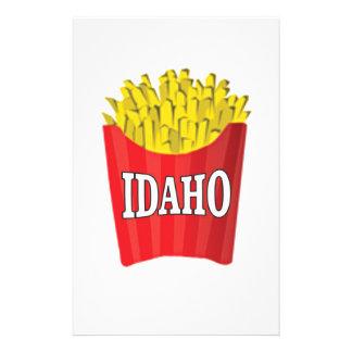 idaho french fries stationery