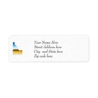Idaho Home Horizon Return Address Label