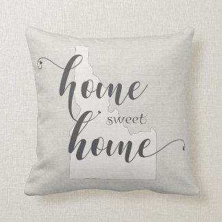 Idaho - Home Sweet Home burlap-look Cushion