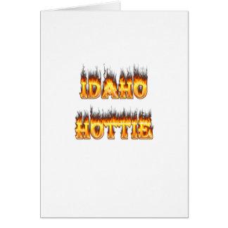 Idaho Hottie Card