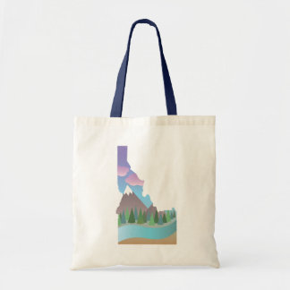 Idaho Illustration Tote Bag