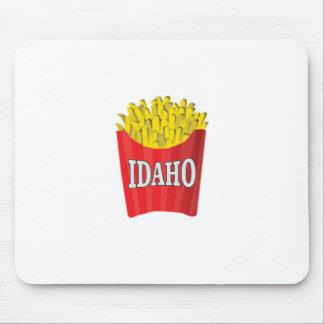 Idaho junk food mouse pad
