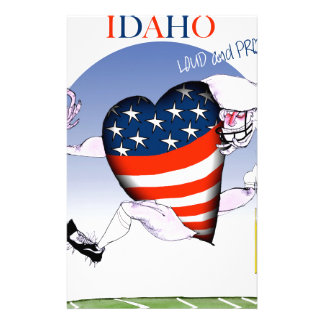 Idaho Loud and Proud, tony fernandes Personalised Stationery