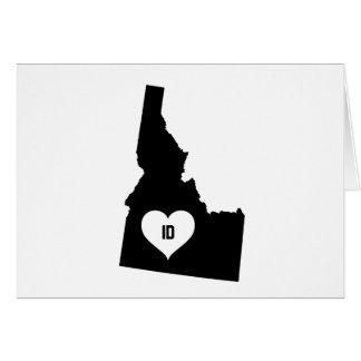 Idaho Love Card