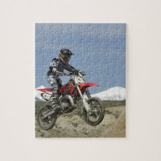 Idaho, Motocross Racing, Motorcycle Racing Jigsaw Puzzle