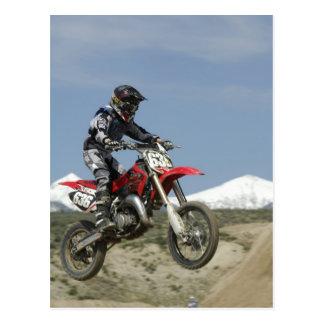 Idaho, Motocross Racing, Motorcycle Racing Postcard