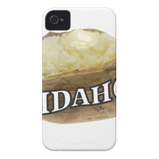 Idaho potato label Case-Mate iPhone 4 case