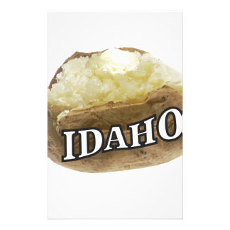 Idaho potato label stationery