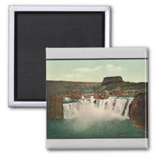 Idaho. Shoshone Falls rare Photochrom Square Magnet