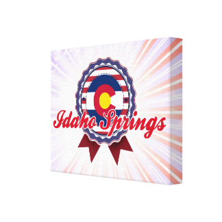 Idaho Springs, CO Stretched Canvas Prints