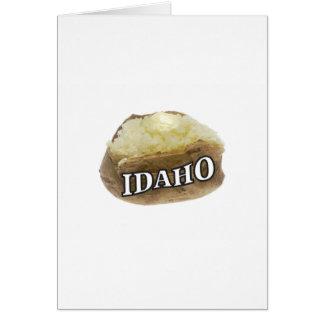 Idaho spud card