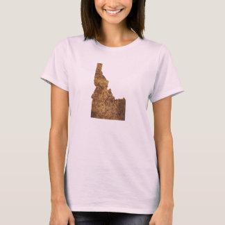 Idaho Spud Map T-Shirt