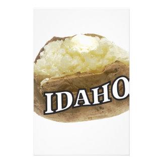 Idaho spud stationery