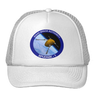 Idaho Spudnik Satellite Mission Patch Cap