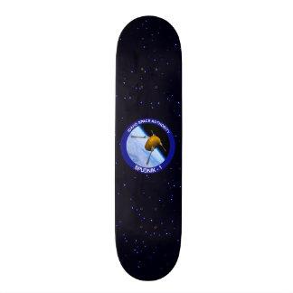 Idaho Spudnik Satellite Mission Patch Skate Boards