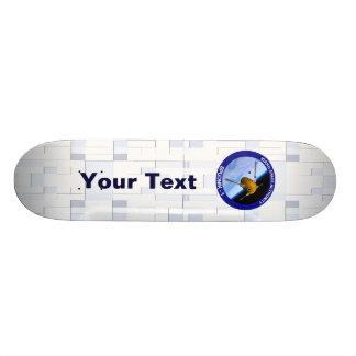 Idaho Spudnik Satellite Mission Patch Skateboard Deck