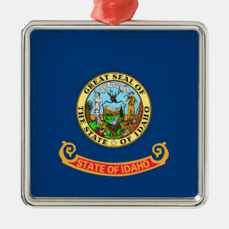 Idaho State Flag Metal Ornament