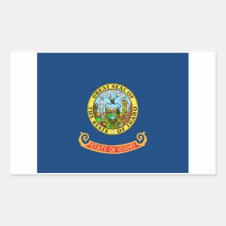 Idaho State Flag Sticker - 4 per sheet