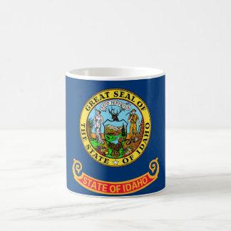 idaho state flag united america republic symbol basic white mug
