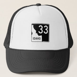 Idaho State Highway 33 Trucker Hat