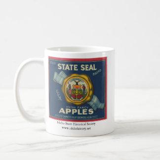 Idaho State Seal Apples Basic White Mug