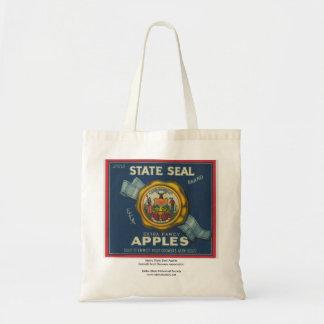 Idaho State Seal Apples Budget Tote Bag