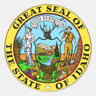 Idaho State Seal Sticker