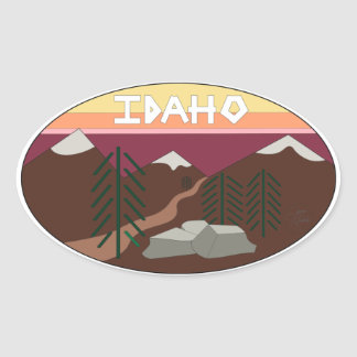 Idaho State Sticker